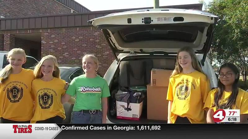 Beta Club Donation to Foster Kids