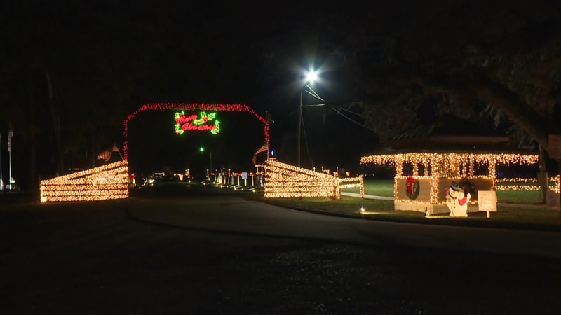 "The city of Geneva and the Greater Geneva Area Chamber of Commerce hosts ""Christmas in the Park."""
