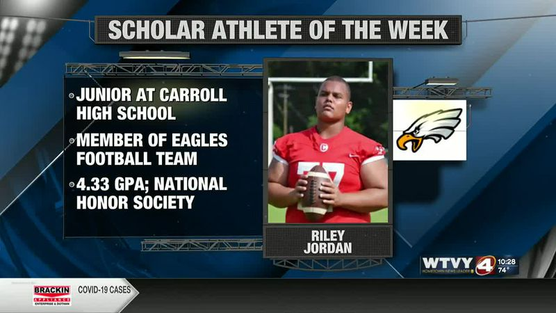 Scholar Athlete of the Week: Carroll's Riley Jordan