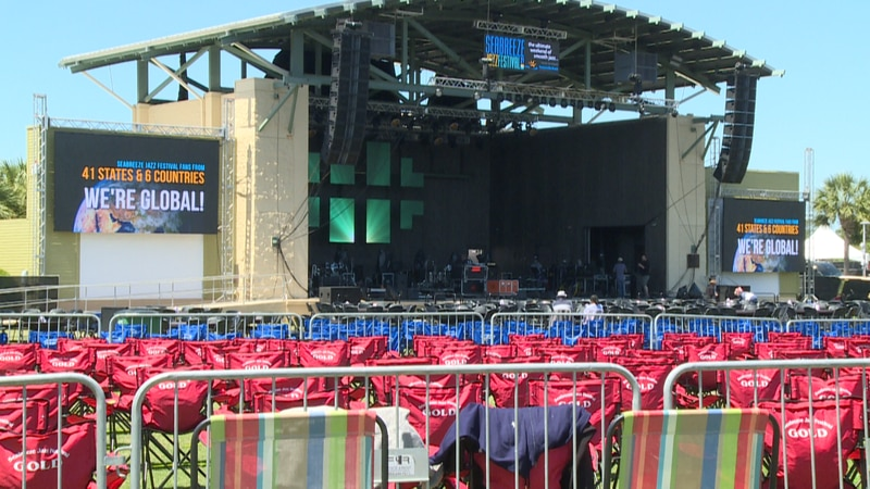 On Thursday, the annual Seabreeze Jazz Festival kicked off at Aaron Bessant Park after being...