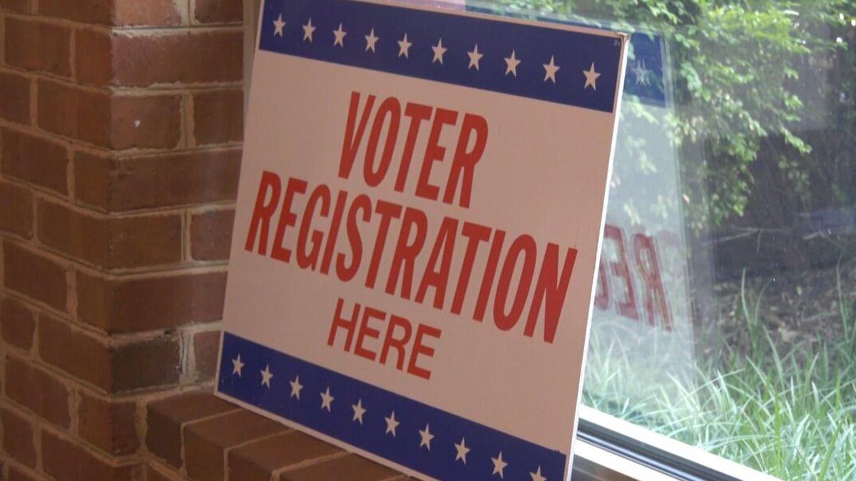 Voter Registration Sign