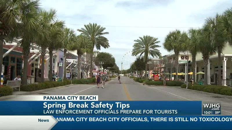 A look at how the city is preparing to keep things safe for spring break. Part of Pier Park...