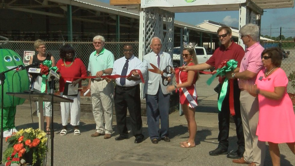 Black was honored at the Watermelon Days ribbon cutting at the front entrance of the Cordele...