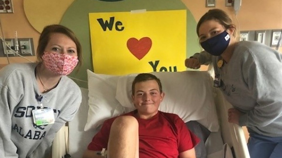 It's not every day that a 15-year-old boy is diagnosed with a rare form of leukemia but, for...