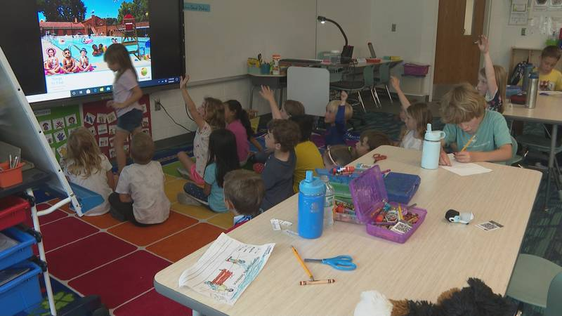 Students enjoy the last day of school in-person in Walton County.