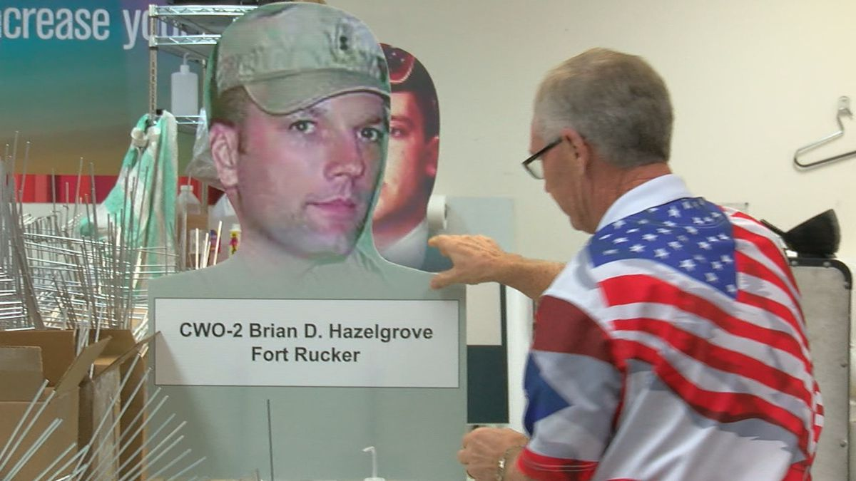Dozens of Veterans will help install the 225 Veteran fan stands Saturday morning at Legion...
