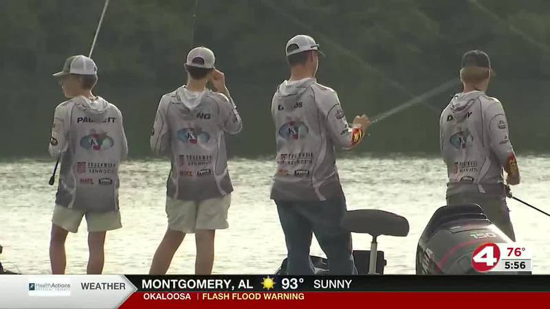 Zion Chapel bass team is headed to nationals