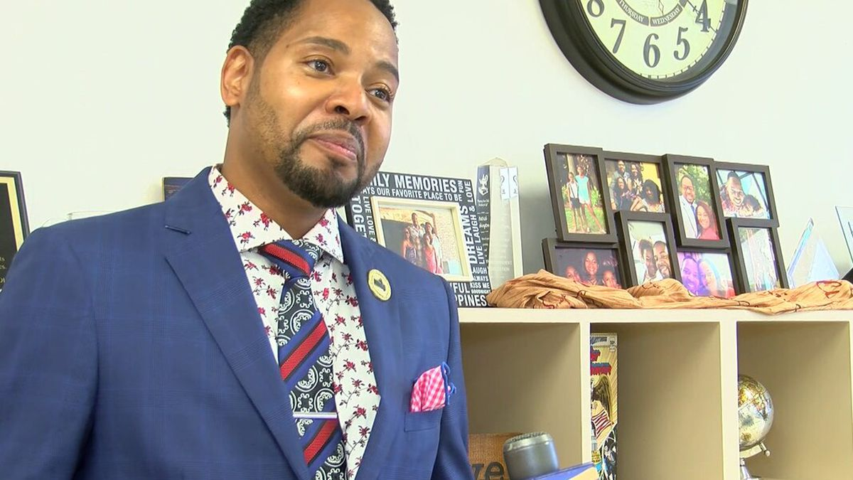 Dr. Patrick Washington, a 20-year educator and founding principal at Promise Academy Spring Hill