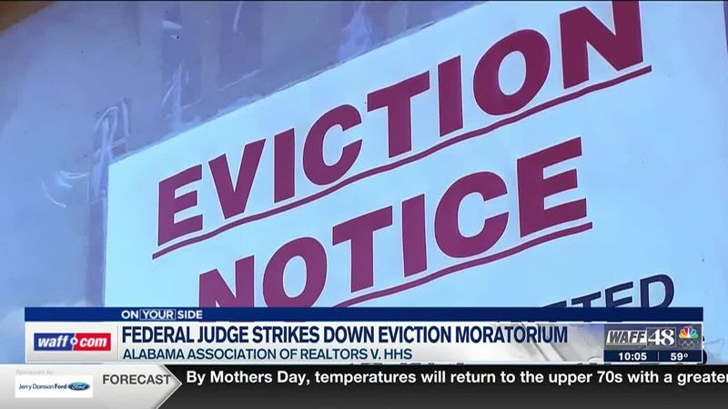 Judge strikes down CDC halt on evictions; what Alabamians need to know