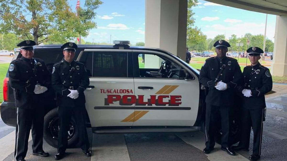 Huntsville Police Honor Guard attend funeral of fallen Tuscaloosa officer (Source: Huntsville...