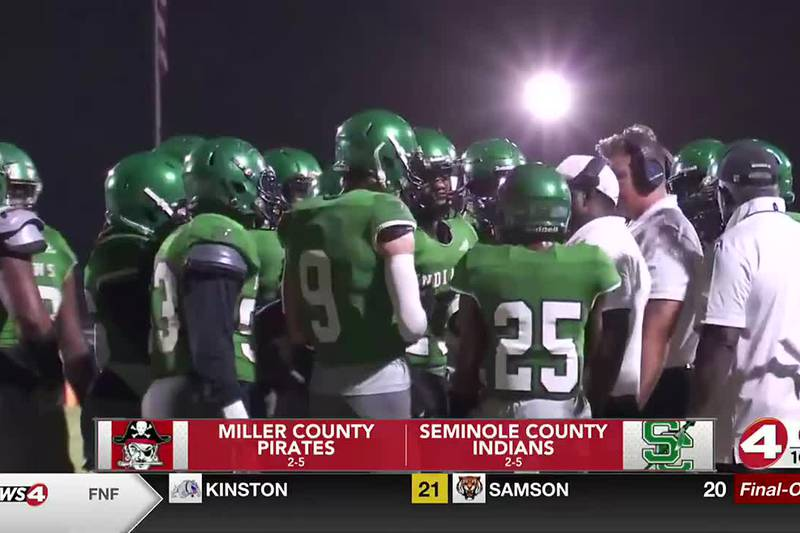 Seminole County squeaks out 9-8 win over Miller County