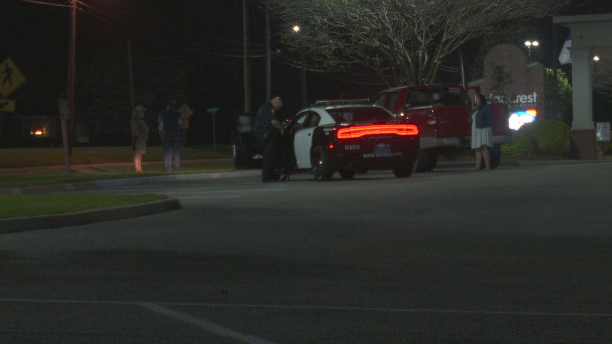 Dothan police investigate road rage incident on March 26, 2021