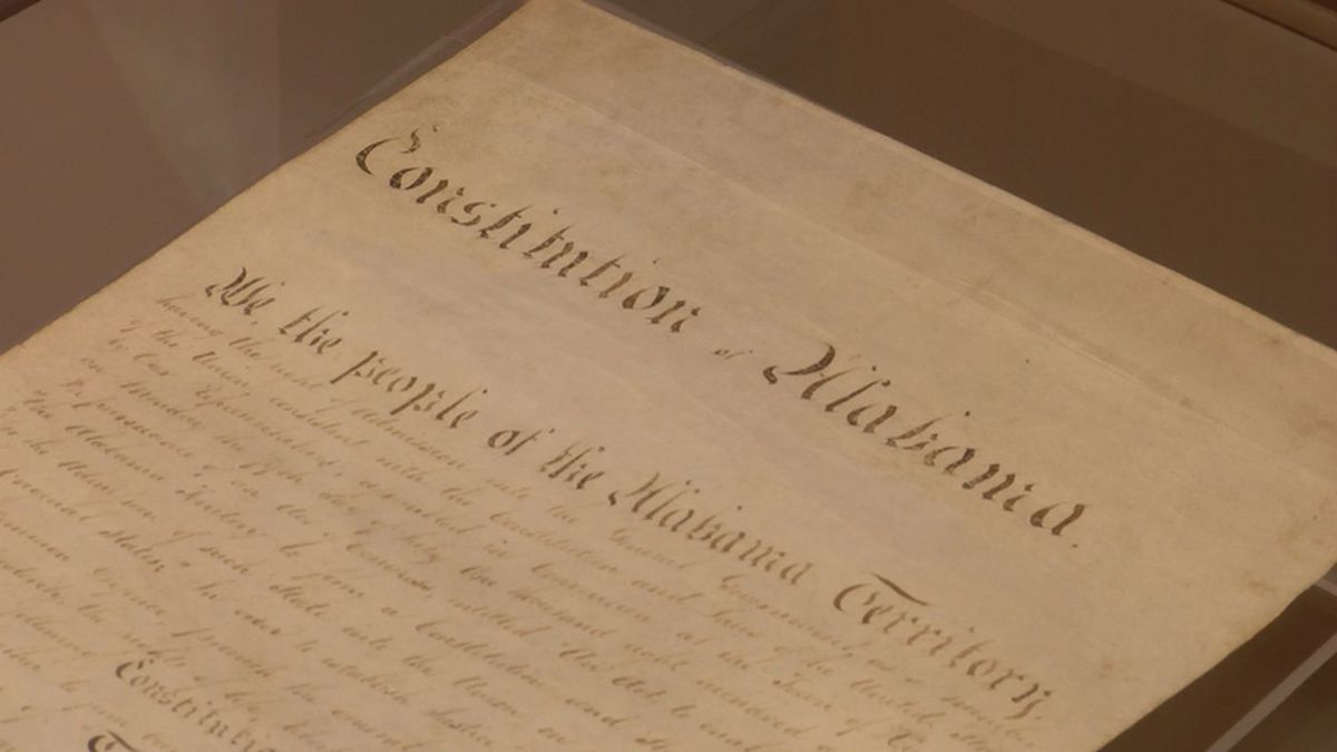 File photo: Alabama's first constitution (Source: WSFA)
