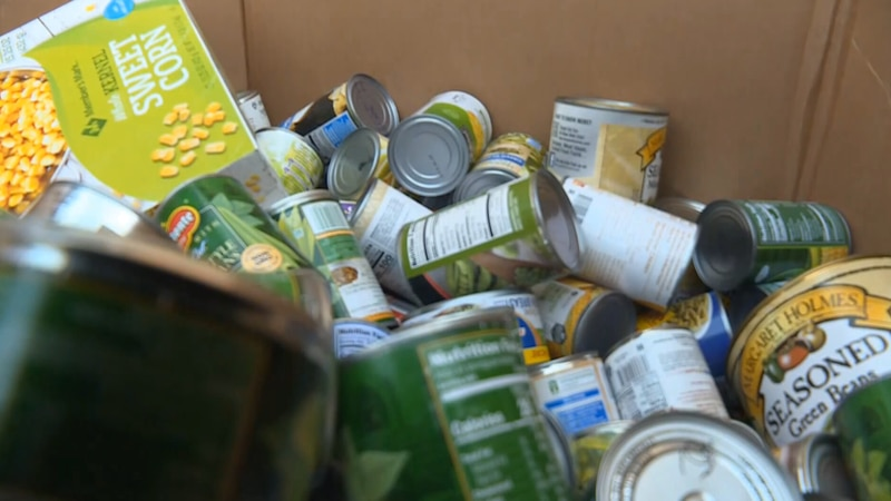 The pandemic is causing issues for the local food bank.