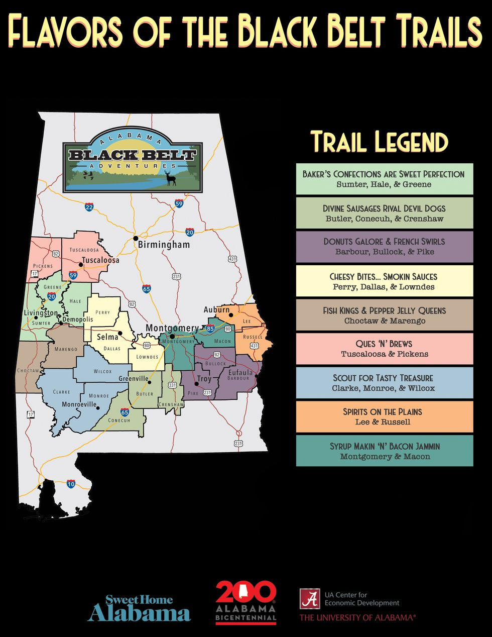 Themed Trails Launched to Highlight Flavors of the Black Belt