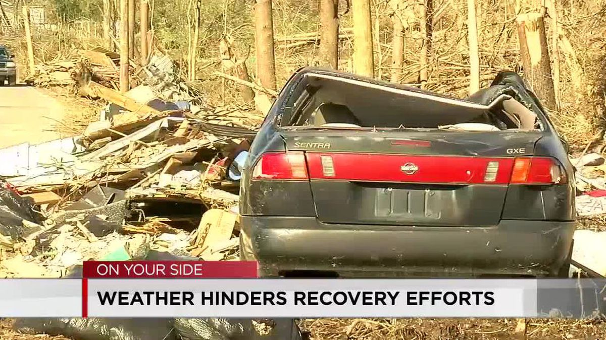 Weather hinders Fultondale recovery efforts