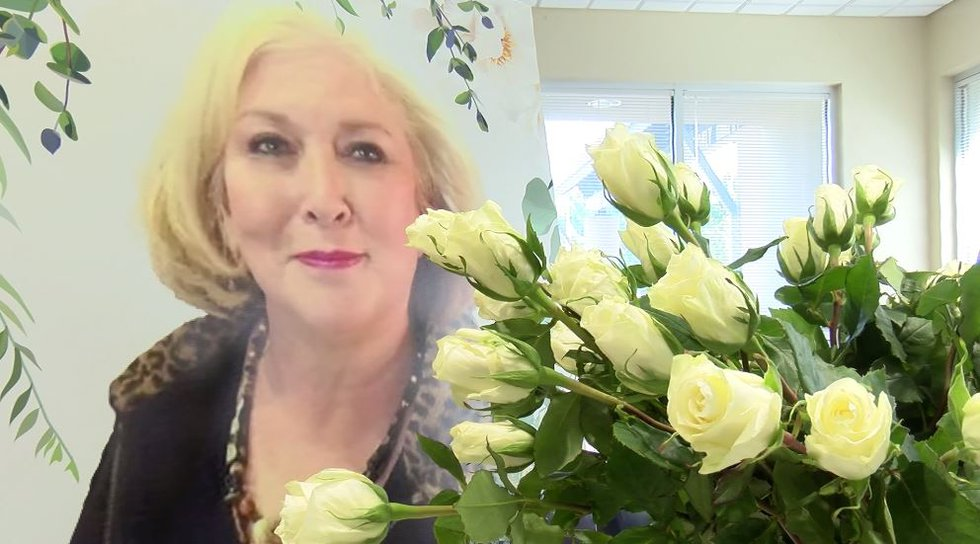 Andalusia florist Alan Cotton lost his beloved wife of more than 40 years two weeks ago to...