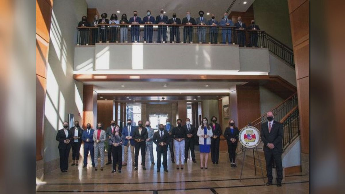 The Alabama Bureau of Pardons and Paroles swore in 31 probation and parole officers on Jan. 4,...