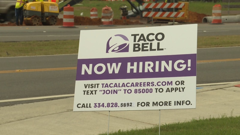 Businesses suffer competing with unemployment benefits.