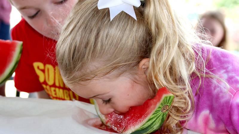 Watermelon Day at Enterprise Farmers Market