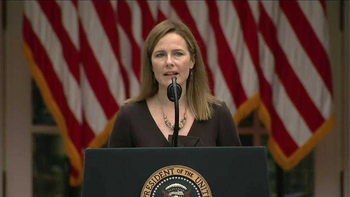 President Donald Trump nominated Judge Amy Coney Barrett to the Supreme Court on Saturday.