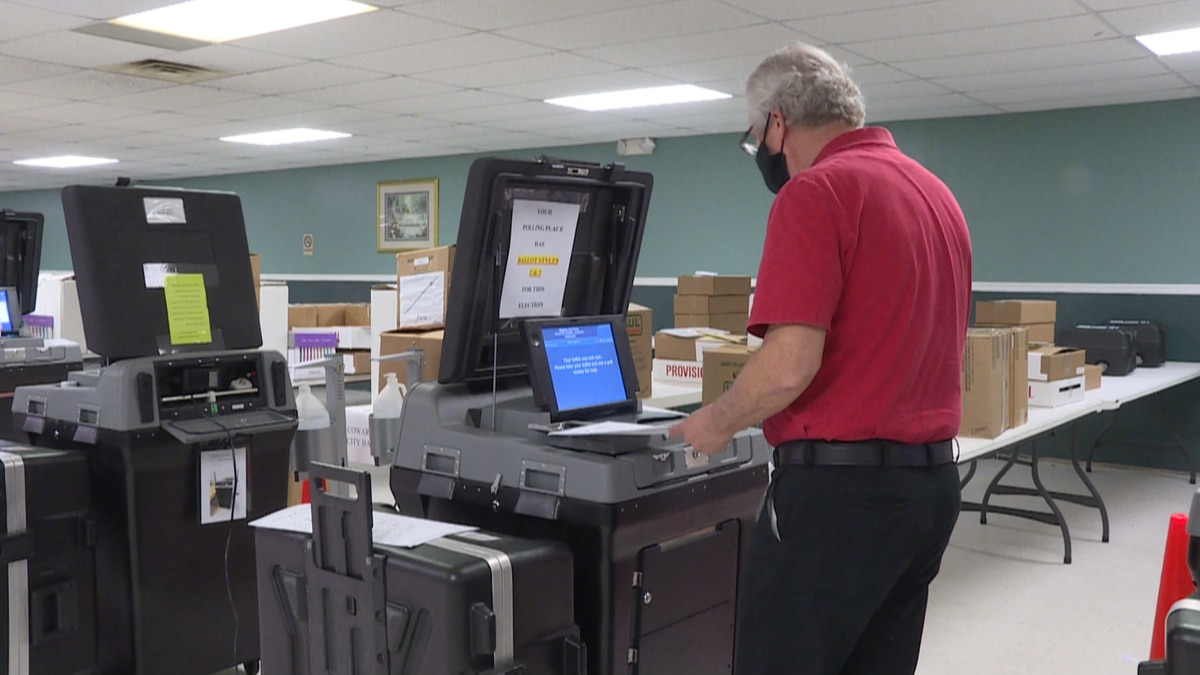 voting machine test