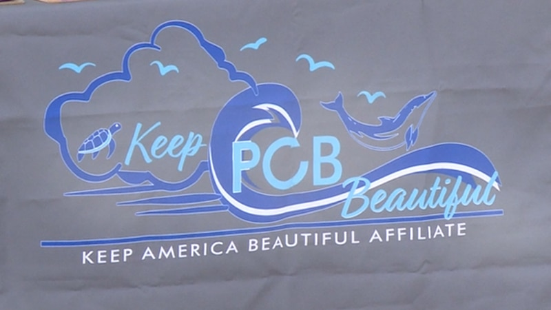 Local organization Keep PCB Beautiful wants tourists to properly dispose of their trash.