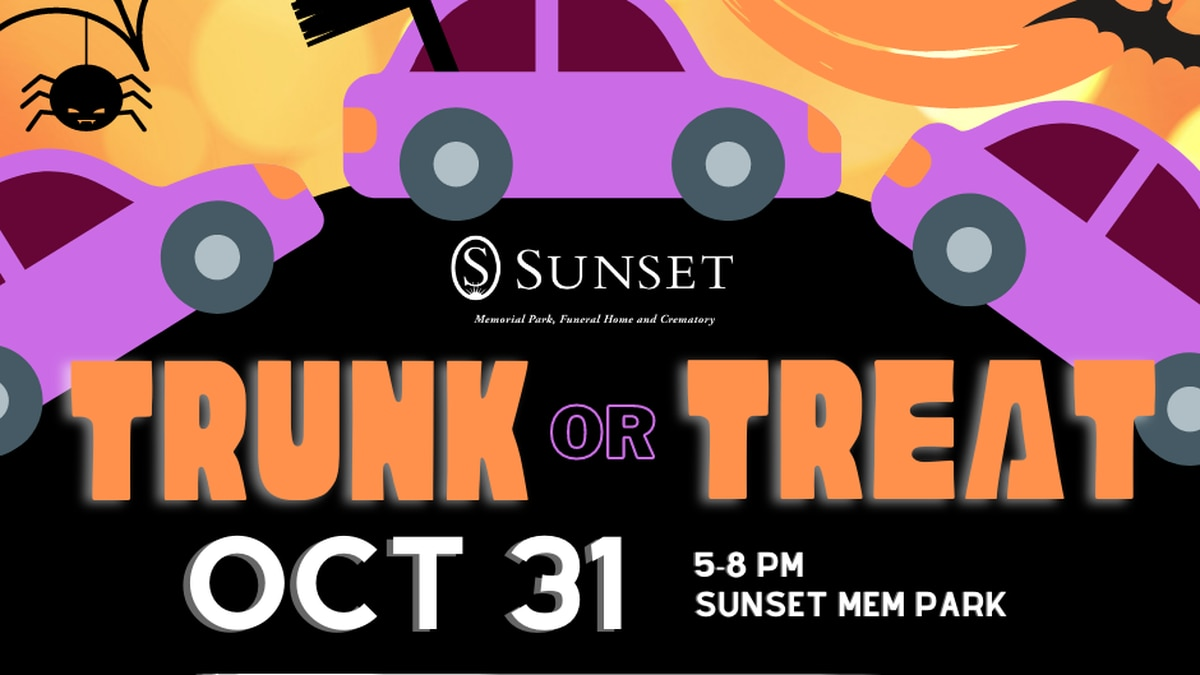 Sunset Memorial Hosting Free Trunk or Treat: Businesses Wanted