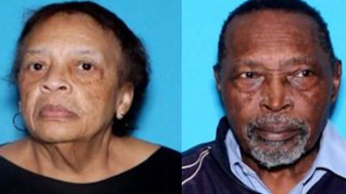 ALEA says a missing senior alert was issued for Annie Maey Jemison, 78, and Walter Jemison, 80. The two were last seen leaving their home around 9 a.m. Tuesday. (Source: ALEA)