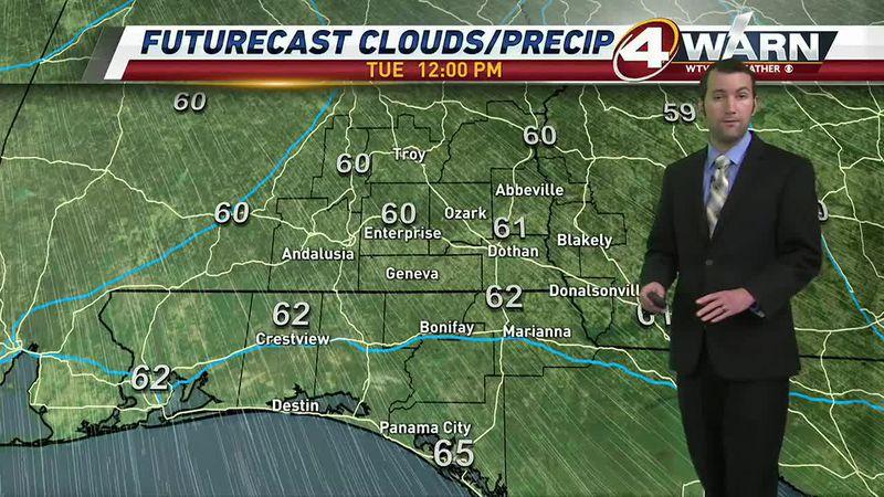Meteorologist Zach Hatcher Forecast 01/05
