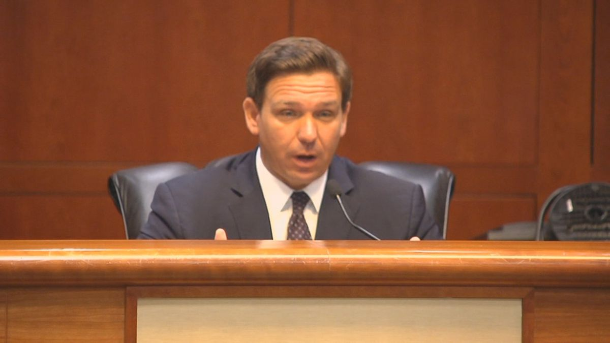 Governor Ron DeSantis brought back some of his favorite public health experts for a round table...