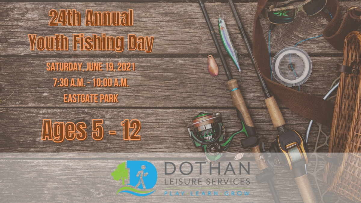 Dothan 24th Annual Youth Fishing Day