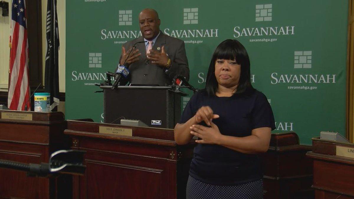 Savannah, Georgia Mayor Van Johnson