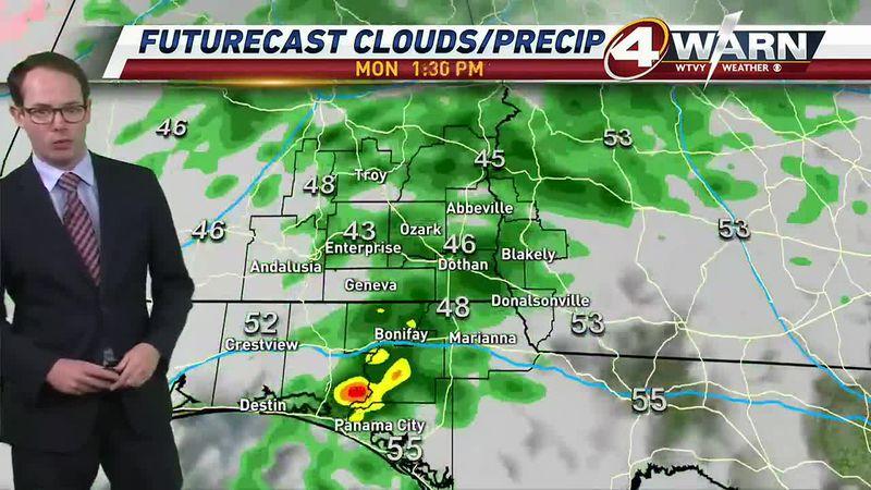 Meteorologist Zack Webster Weathercast, January 10, 2021