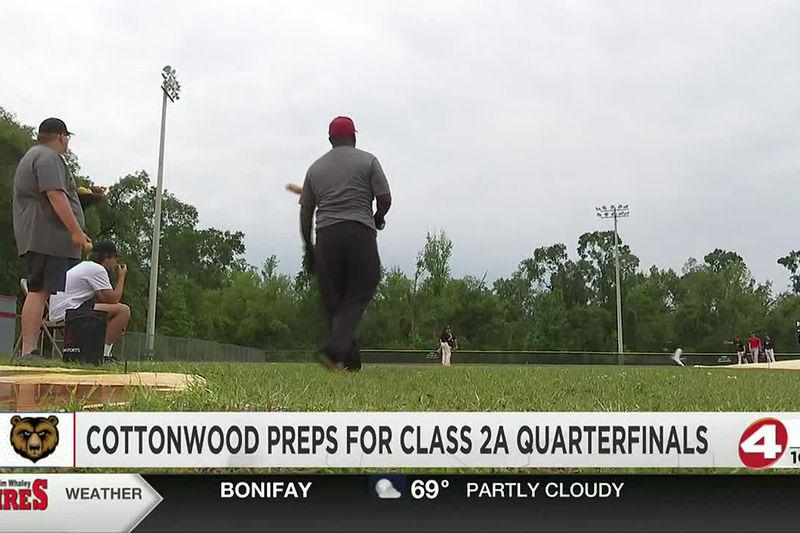 Cottonwood baseball back in Class 2A Quarterfinals