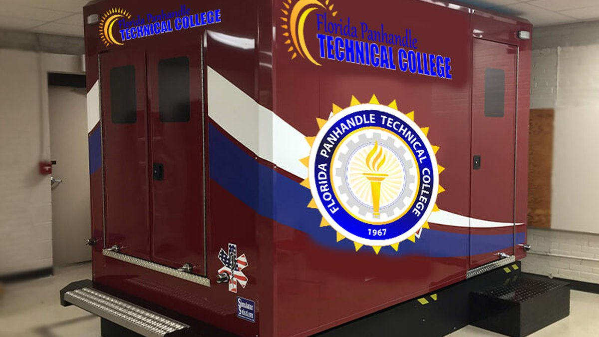 The ambulance simulator will let students experience a life-like scenario, under safe and...