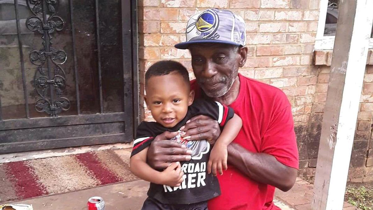 A community is reeling tonight over the loss a great-grandfather and his four-year-old...