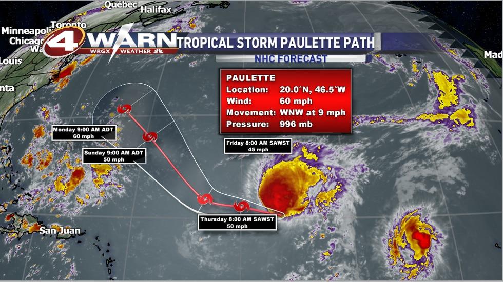 Tropical Storm Paullete
