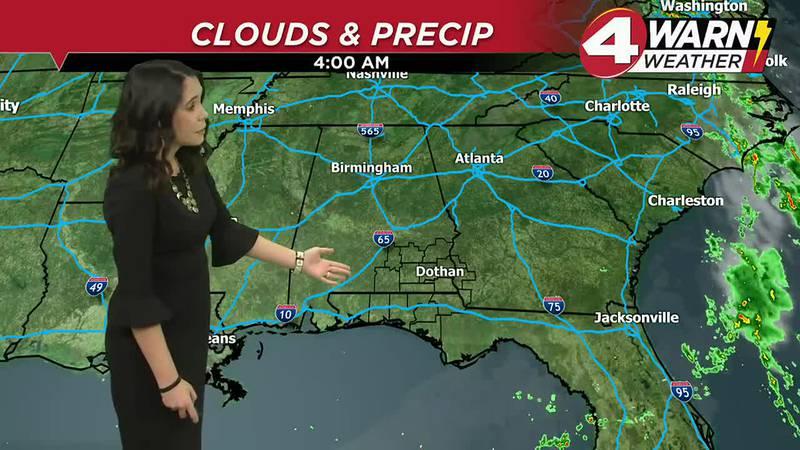 Meteorologist Amber Kulick Weathercast 9-23