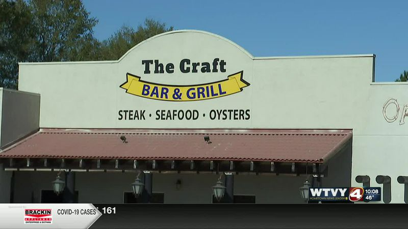 The Craft Bar and Grill in Enterprise.