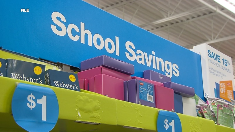 Florida's back-to-school tax holiday continues for another week.