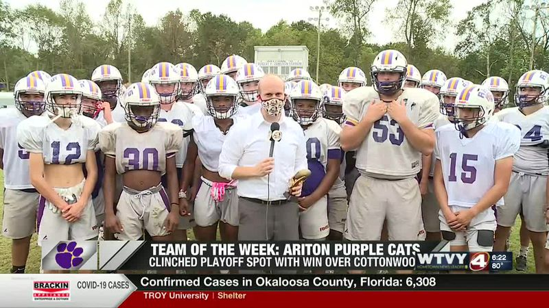 Team of the Week: Ariton Purple Cats