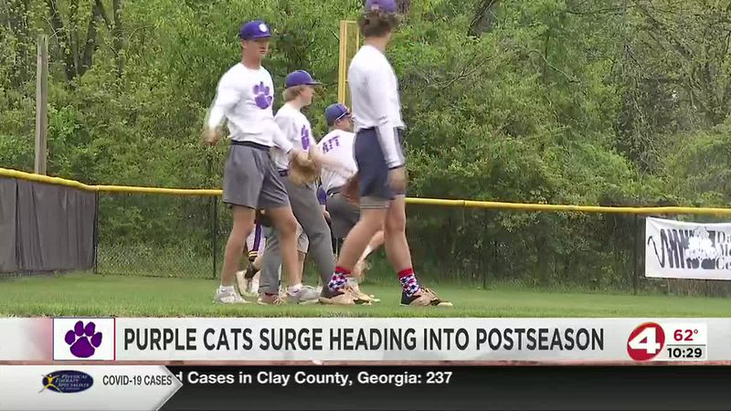 Purple Cats surging into postseason