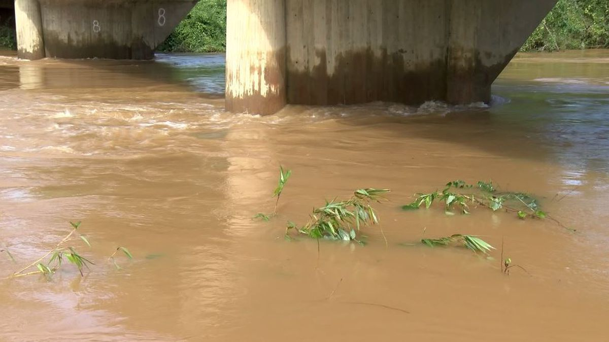 There was a dramatic change in the Pea River flooding situation in Elba Friday.