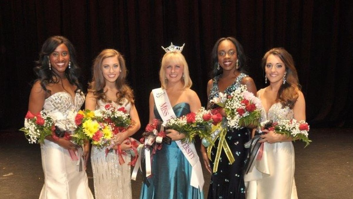 Mary Beth Moore, a sophomore dance major from Alabaster was crowned Miss Troy University 2017...