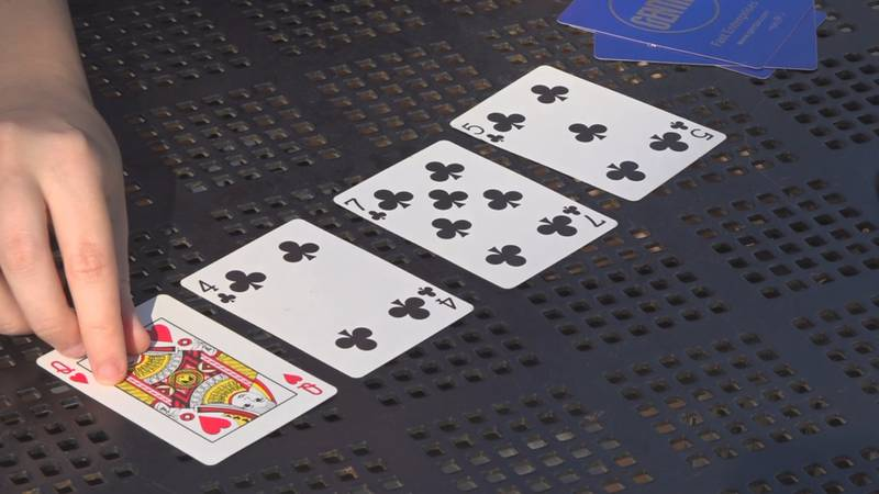 Sammie Gruber, a fifth-year student at FSU, competed in the World Series of Poker Ladies...