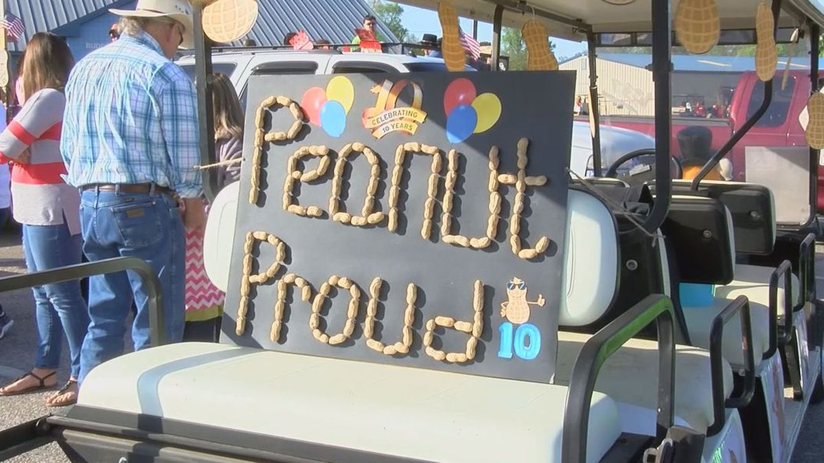 The City of Blakely will host its annual Peanut Proud Parade.