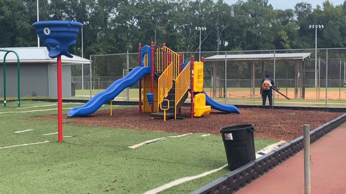 Abbeville Recreation Park renovations