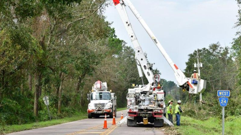 The Alabama Power Company is on standby if storms affect the state.