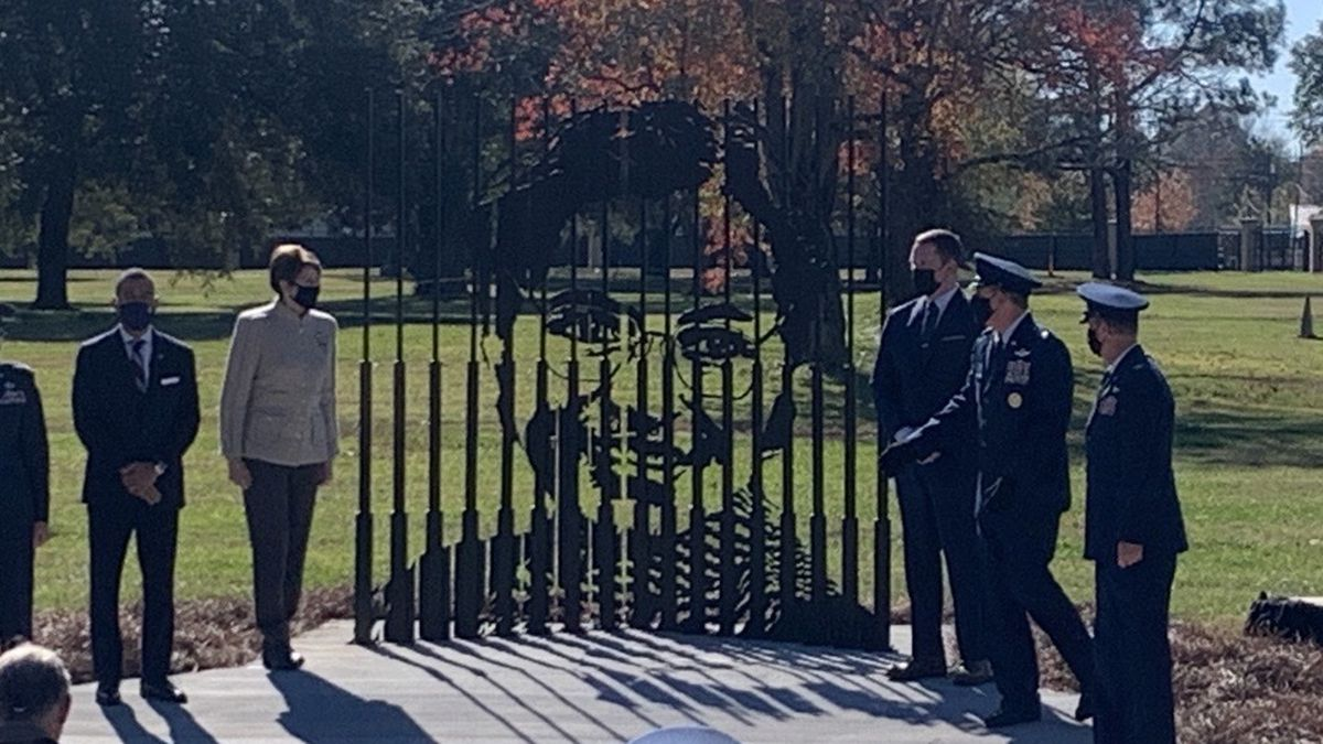 On Tuesday, military leaders along with city officials remembered Parks with a memorial and a...